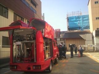 多機能型消防自動車REDSEAGULL