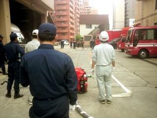 消防団の甲子園、特別点検基本ポンプ操法