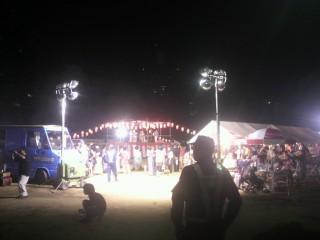 本町夏祭り警戒