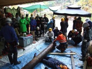 DRT2010宮城蔵王、動力機材等を活用した災害ボランティア講習会