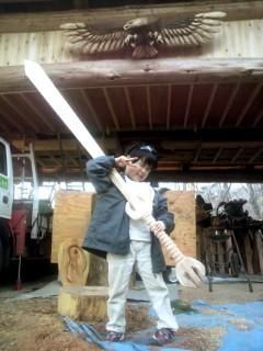 チェーンソー彫刻