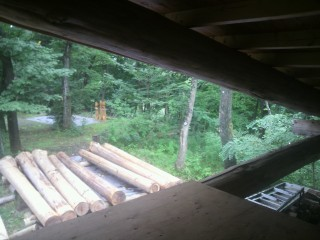 屋根裏の座禅堂、こんなのありえってぃ?