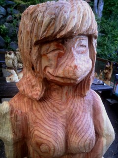 商売繁盛の縁起物、お客様を呼び寄せるカッパ彫刻招福萬来