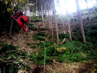 林業集材作業